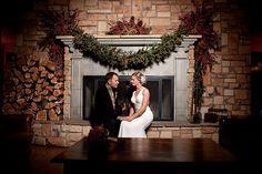 Lodge Wedding Fireplace by laubergedesedona, via Flickr