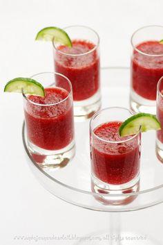Strawberry Cucumber Juice