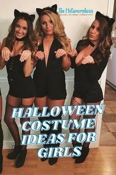 College Halloween costumes for girls and couples to wear to Halloween parties this semester. Unique Couple Halloween Costumes, Halloween Couples, Halloween Parties, Cool Costumes, Halloween Diy, Popular Costumes, Costumes For Teens, College Hacks, College Fun