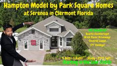 The Hampton Model by Park Square Homes at Serenoa in Clermont Florida