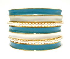 2014 Brasil World Cup Wrist Fashion Female Bracelets and Bangles. Hellenic Flag Symbolic Fashion Jewelry. Blue Mix White Banlges $5.50