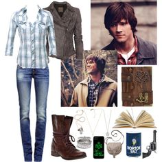 """Supernatural."" by mysterygirl1999 on Polyvore"