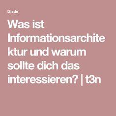Was ist Informationsarchitektur und warum sollte dich das interessieren? | t3n