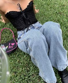 Indie Outfits, Retro Outfits, Grunge Outfits, Cute Casual Outfits, Fashion Outfits, Girly Outfits, Fasion, Fashion Tips, Aesthetic Fashion