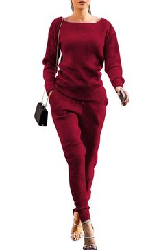 RYGHEWE Womens Casual High Waist Off Shoulders Solid Wide Leg Jumpsuit