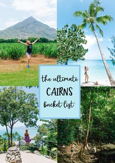 THE ULTIMATE CAIRNS BUCKET LIST told by a local. Check out how beautiful the FNQ region is!