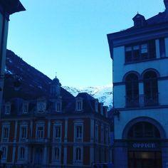 Changement de décor ... On vient d'arriver ... Bonne soirée à vous tous !  #vacances #ski#happyfriday#cauterets by laur_en_ce
