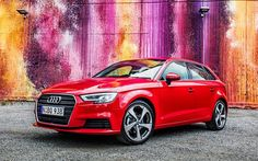 Audi A3 Sportback, 2017 cars, wagons, german cars, Audi