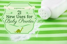 Don't have any baby powder at home? Here are 21 home hacks you're missing: