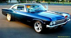 1965 Chevrolet impala SS (from the series Supernatural)