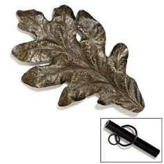 Modern Objects Leaf Rod Drapery Hardware - Knobs and Hardware