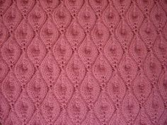 Candle Flame Shawl pattern by Dean Crane