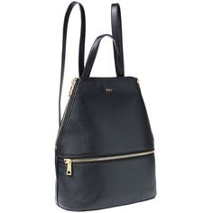 Lauren Ralph Lauren Arley Blaine Leather Backpack ($298) ❤ liked on Polyvore featuring bags, backpacks, black, leather backpack bag, genuine leather backpack, leather rucksack, leather knapsack and genuine leather bags