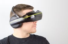 the vuzix 'Iwear 720' video headphones which runs on the OSVR platform, provides a new standard for entertainment and gaming systems