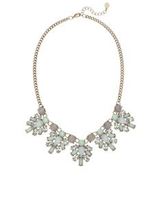 Madeline Collar Necklace - lovely to wear from day through to night to liven up my cream outfit