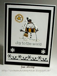 The color scheme on this card makes me think Steelers, which then makes me think that I could totally do that on purpose and make cards to go with different teams!