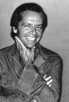 I'm so used to seeing Jack Nicholson looking scruffy and slightly evil, so this open-faced shot showing the great grin was wonderfully refreshing. - Ronni
