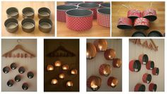 Kaleng Bekas disulap Menjadi Tempat Lilin Aromatheraphy Gantung yang Cantik dan Indah