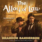 I finished listening to The Alloy of Law: A Mistborn Novel (Unabridged) by Brandon Sanderson, narrated by Michael Kramer on my Audible app. Try Audible and get it free.