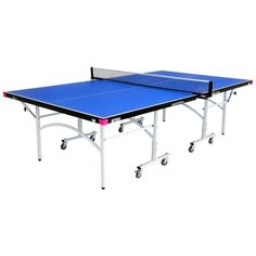 Butterfly Easifold 19 Blue Ping Pong Table