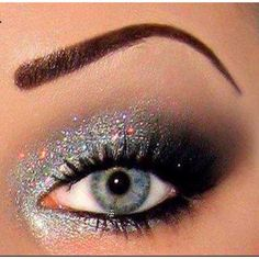 Glitter eyeshadow