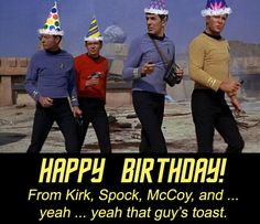 This was printed and laying on my office keyboard on my birthday. Still makes me laugh. :)