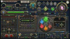 【原创】转换成256色的游戏界面构件  GAMEUI- 游戏设计圈聚集地   游戏UI   游戏界面   游戏图标   游戏网站   游戏群   游戏设计
