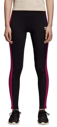 eb41e0650edb1 Adidas Originals Womens adidas Originals Racing AA-43 Leggings - Black/Hot  Pink/White