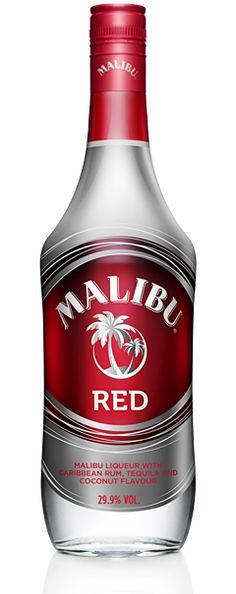 Malibu Red - A delicious blend of 70 proof smooth MALIBU Caribbean Rum and fiery silver Tequila Packaging World, Beverage Packaging, Drinks Alcohol Recipes, Alcoholic Drinks, Wine Drinks, Drink Recipes, Beverages, Coconut Tequila, Coconut Milk