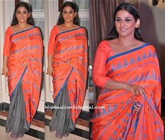Vidya Balan In Anupamaa And Manish Arora For Amrapali At 'Indian Film Festival Of Melbourne' Press Meet-1