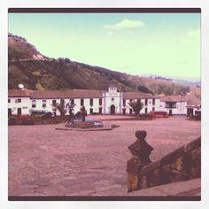 Monguí, Boyacá. Reconocido por ser la fábrica de balones de cuero