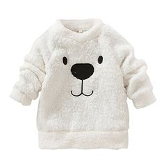 Winter Kids Baby Long Sleeve Sweater Tops Crew Neck Casual Warm Pullover Blouse - Kid Shop Global - Kids & Baby Shop Online - baby & kids clothing, toys for baby & kid Thick Sweaters, Baby Sweaters, Girls Sweaters, Fashion Kids, Style Fashion, Winter Fashion, Pinterest Baby, Baby Boy Outfits, Kids Outfits