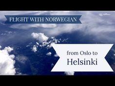 Flight from Oslo to Helsinki • INDIVUE