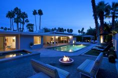 Desert Rose is a 3 BR, 2.5 BA luxury vacation rental located in Palm Springs, CA.