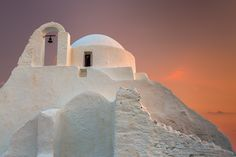 Panagia Paraportiani II by Jim Nilsen on 500px The Panagia Paraportiani Church at sunset, Mykonos, Greece.