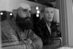 Ricki Hall and Jimmy Q Jimmy Q, John Millington, Chris John, Ricki Hall, Bearded Tattooed Men, Beard Tattoo, Beautiful Friend, Man Alive, Model Agency