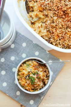 Cauliflower Mac and Cheese | VanillaAndBean.com