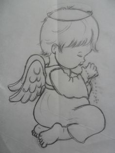 Gallery.ru / Фото #54 - 17=1=2015 - ergoxeiro Disney Drawings Sketches, Girl Drawing Sketches, Art Drawings For Kids, Baby Drawing, Pencil Art Drawings, Cute Drawings, Angel Drawing, Christmas Drawing, Christmas Coloring Pages