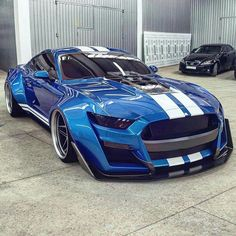 Ford Mustang Shelby GT 500 by Car Collection™ Shelby Gt500, Shelby Mustang, Mustang Cars, Blue Mustang, Luxury Sports Cars, Cool Sports Cars, Best Luxury Cars, Sport Cars, Cool Cars