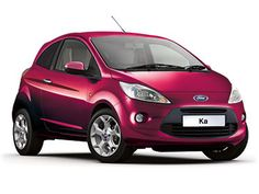 New Baby Ford Ka Titanium In Pearlescent Blush
