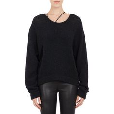 Helmut Lang Relaxed-Knit Pullover at Barneys.com