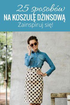 Najbardziej stylowe pomysły! <3 #spódnica #koszula #jeans #moda
