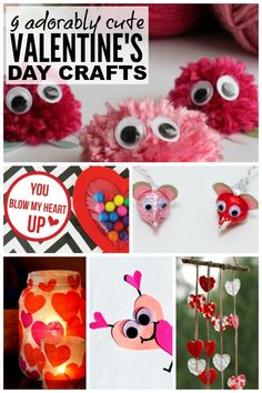 Looking for the perfect valentines ideas to keep your kids busy when it's too cold to go outside? Me too! And that's why I put together this fabulous collection of valentines day crafts for kids.