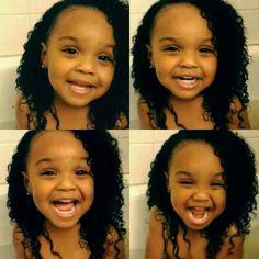 Black baby   daughter  cute baby