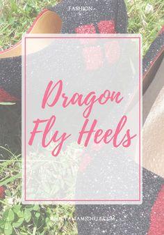 Tania Michele: Dragonfly Heels http://www.taniamichele.com/2017/07/dragonfly-heels.html #shoes #fashion #fbloggers #harleyquinn #starwars #customshoes #dragonflyheels #thegirlgang