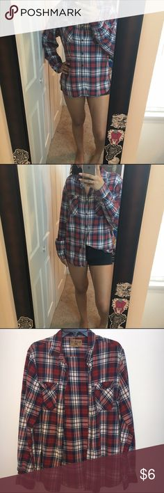 Flannel this fannel was also found in the men's section of forever 21 and is used an oversized flannel only worn once ! Forever 21 Other