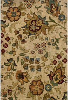 Oriental Weavers Infinity Collection 1105a Casual Beige Rug