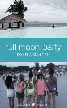 TravelBreak.net - Full Moon Party Thailand