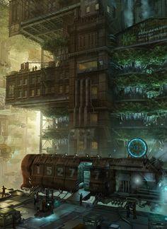 The Cyberpunk scene