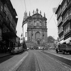 Rua dos Clérigos em 1965 // #porto #oporto #vintage #portovintage #60s #porto60s // webook.pt